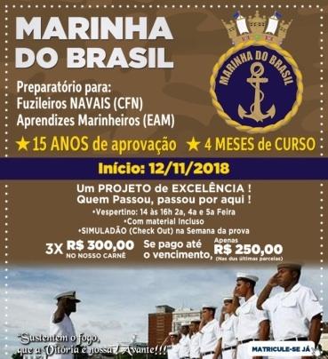 supletivo em salvador ensino médio e fundamental, cursos, enem ecurso preparatÓrio para aprendizes marinheiros (eam) e fuzileiros navais (cfn)